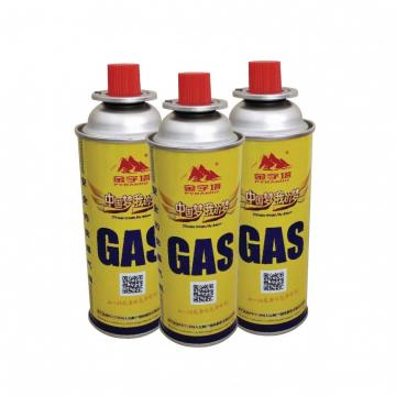 220g 250g gas cartridge for camping and msds butane gas