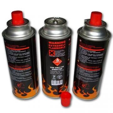 China propan butane gas cartridge and aerosol container Explosion Proof