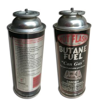 Butane Canister Refill camping gas stove China korea MSDS Gas butane refill 190g 220g 250g refill gas cartridge