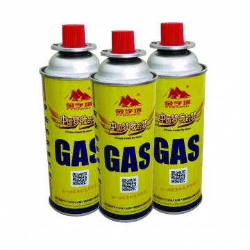 Lighter Gas Refill Empty butane gas can 220g and aerosol can for gas lighter butane empty