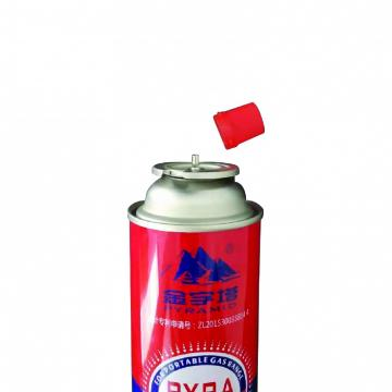 220g/190g/227 Butane Gas Cartridge Aerosol Straight Can
