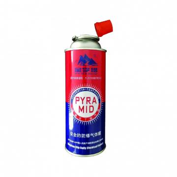 Camping Stove Gas Burner The empty mint tin butane gas canister and mini aerosol butane gas can