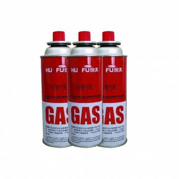 Customers Requirement Low pressure empty gas bottle butane gas cartridge