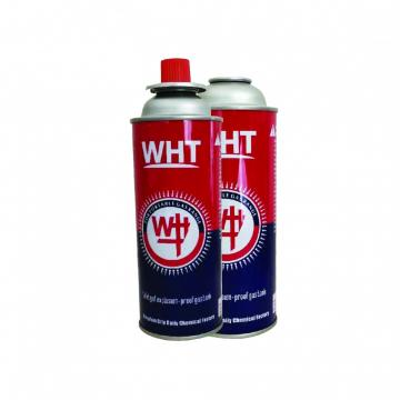 300ml factory butane gas OEM Logo Aerosol Tin Can for Butane Gas