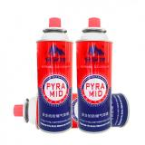 Metal Tinplate Butane Gas Stove Refill Aerosol Cans gas refill 300ml